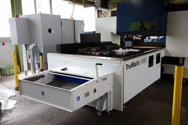 Adler Blechbearbeitung TC 1000 fibre Erweiterung Laser